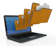 Computer data Royalty Free Stock Photography
