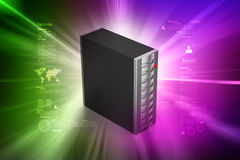 Computer data centre Royalty Free Stock Photos