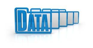 Computer data concept Stock Photos