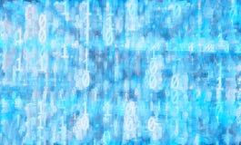 Computer data hacking illustration background Royalty Free Stock Photos