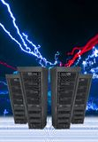 Computer Data Servers Royalty Free Stock Photo