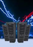 Computer Data Servers Royalty Free Stock Photo
