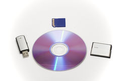 Computer data storage Royalty Free Stock Photography