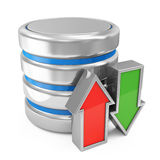 Computer Database Symbol Stock Image