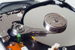 Computer del disco rigido Immagine Stock Libera da Diritti