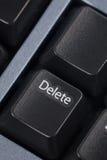 Computer delete key Stock Image