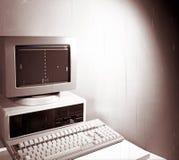 Computer dell'annata Immagine Stock