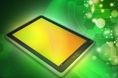 Computer della compressa del touch screen Fotografia Stock Libera da Diritti
