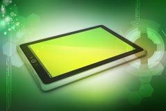 Computer della compressa del touch screen Fotografie Stock