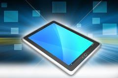 Computer della compressa del touch screen Immagini Stock
