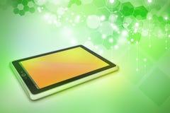 Computer della compressa del touch screen Fotografia Stock