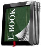 Computer della compressa - libro elettronico Immagine Stock Libera da Diritti