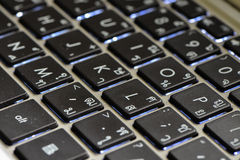 Computer della tastiera Fotografia Stock