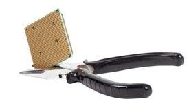 Computer delle parti di riparazione di qualità Fotografia Stock Libera da Diritti