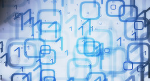 Computer, der große Daten 01 lädt Lizenzfreie Stockfotografie