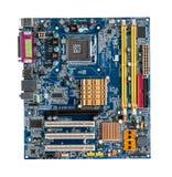 Computer des Motherboards Stockfoto