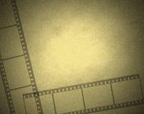 Computer designed film frame Stock Image