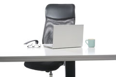 Computer on the desk Royalty Free Stock Photography