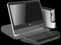 Computer, Desktop, Modern, Device Royalty Free Stock Image