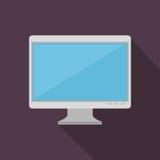 Computer desktop monitor icon Stock Photo