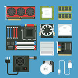 Computer device icon Royalty Free Stock Photos