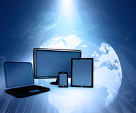 Computer Devices Royalty Free Stock Photo