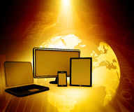 Computer Devices Royalty Free Stock Images