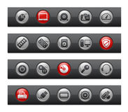 Computer & Devices // Button Bar Series Stock Image