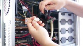 Computer di medico stock footage