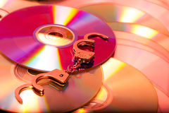 Computer disc Royalty Free Stock Image