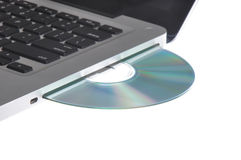 Computer disc drive Royalty Free Stock Photo