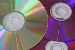 Computer Discs Royalty Free Stock Photography