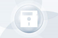 Computer disk background Royalty Free Stock Photos