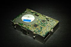 Computer disk drive Stock Photo