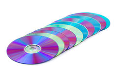 Computer disks Royalty Free Stock Images