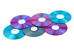 Computer disks Royalty Free Stock Image