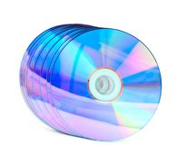 Computer disks Royalty Free Stock Photo