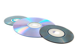Computer disks Stock Photos
