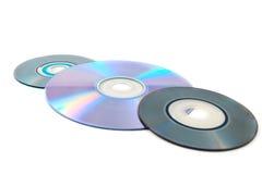 Computer disks Stock Photos
