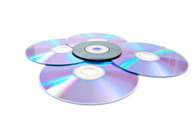 Computer disks Royalty Free Stock Photo
