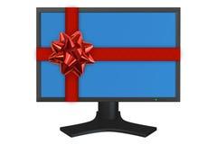 Computer Display Royalty Free Stock Photo