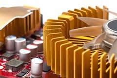 Computer display card Royalty Free Stock Photo