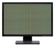 Computer display or lcd tv Stock Photography
