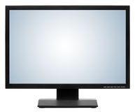 Computer display or lcd tv Stock Image