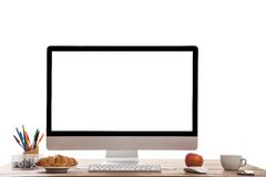 Computer display. Stock Images