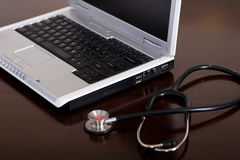 Computer doctor Royalty Free Stock Photography