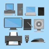 Computer e peripherials Fotografia Stock Libera da Diritti