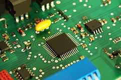 Computer electronic board circuit Stock Photography