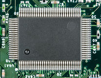 Computer electronic chip Stock Photography