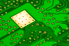 Computer electronic circuit board stock image